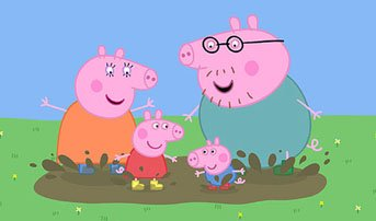 Peppa and her family