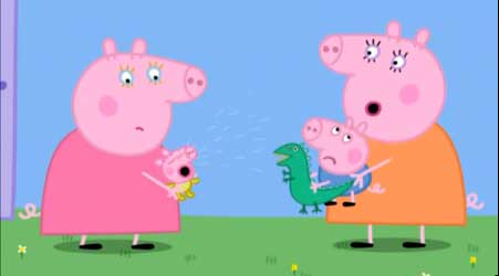 Peppa Pig - The Baby Piggy.
