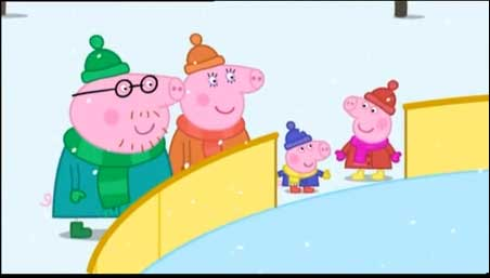 Peppa Pig - 2.34 Ice Skating.Obzor