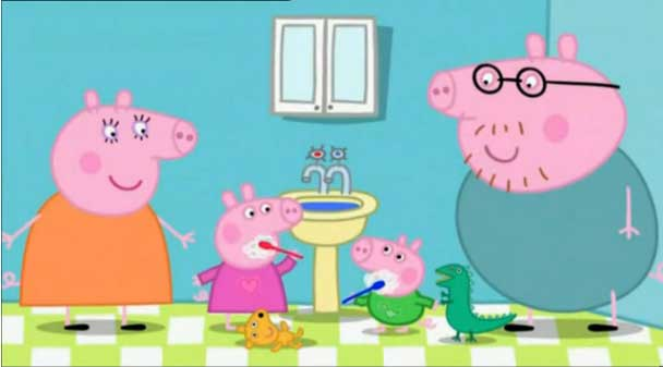 Peppa Pig - 2.35 The dentist. Obzor