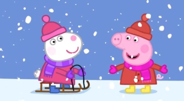 peppa-pig-Cold-Winter's-Day.obzor.