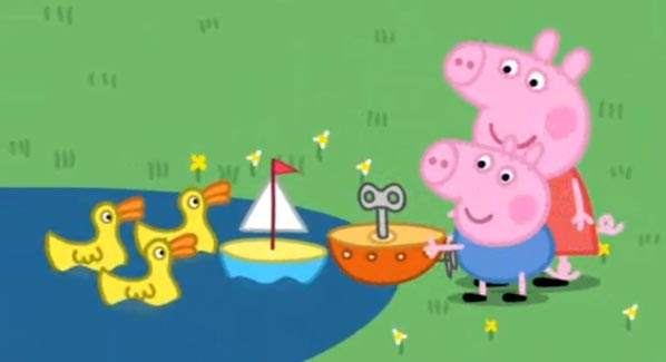 peppa-pig-The-Boat-Pond. obzor.