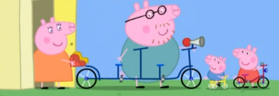 peppa-pig-Cycling