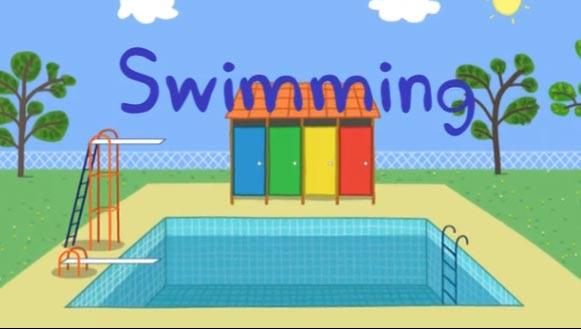 peppa-pig-Swimming. obzor.