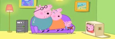 Peppa Pig. Sleepover.