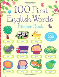 100 first english words usborne