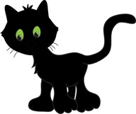 black colored cat poem