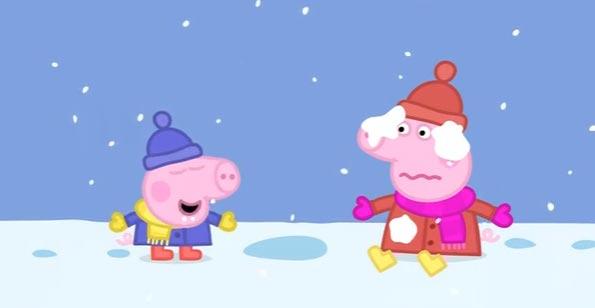 Peppa-Pig-Snow. Obzor.