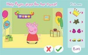 Peppa Pig. Dress Up. Game.