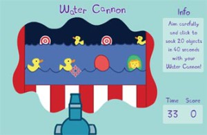 Peppa-Pig-play-water-cannon-game