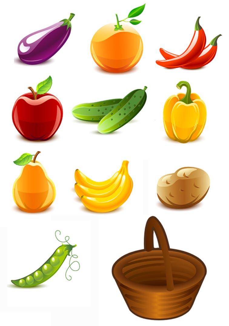 Zadanie kartinka frukti - ovoshi na angliiskom