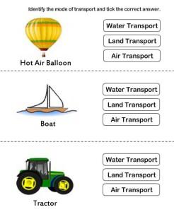 Identify type of transport card 1
