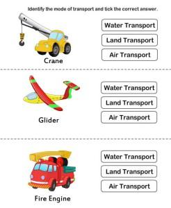 Identify type of transport card 6