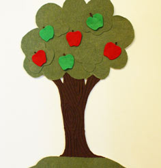Apple tree for a kids poems