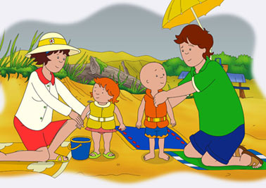 Caillou - canadian cartoon