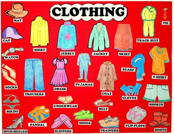 clothes poems for children