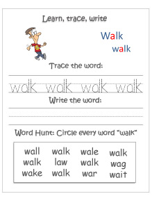 learn-trace-write--walk