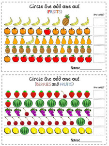 fruits-circle-the-odd-out-worksheets-in-colour