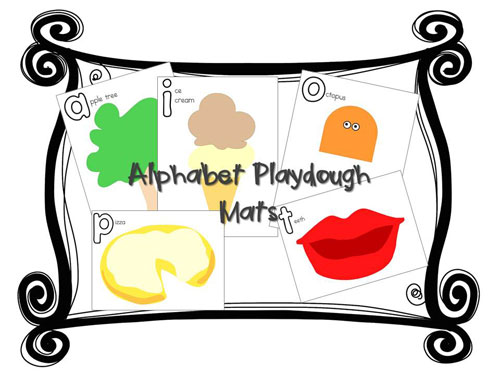 Alphabet-Playdough-Mats