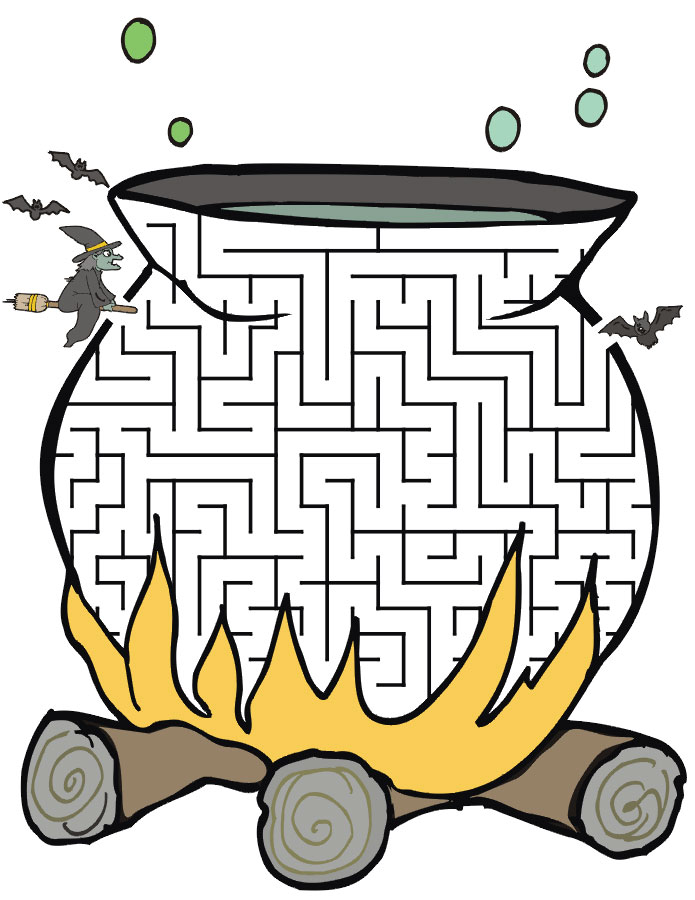 Printable-Halloween-Mazes