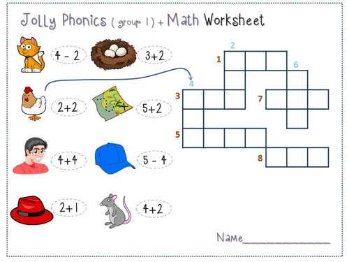 jolly-phonics--and-math-crosswords1