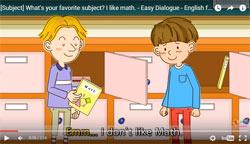 Prostie dialogi na angliiskom - shkola
