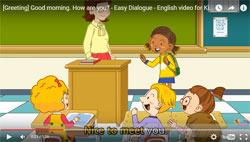 Prostie dialogi na angliiskom - privetstvie