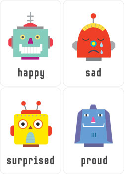 Feelings-emotions-smile-flashcards