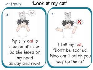 Look at my cat story to read 2