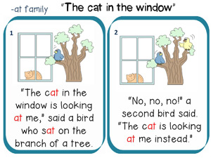 The cat in the window story to read 1