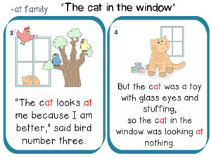 The cat in the window story to read 2