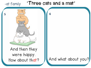 Three cats and one mat story to read 3